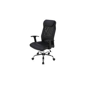 Sconto Kancelárska stolička BRAMPTON čierna