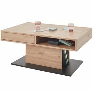 Sconto Konferenčný stolík ACTIVO 2 dub artisan/čierna