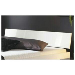 Sconto Čelo postele ARIZONA biela vysoký lesk, šírka 95 cm