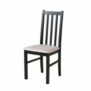 Sconto Jedálenská stolička BOLS 10 čierna/béžová