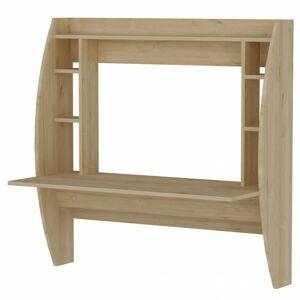 Sconto Nástenný písací stôl BUGLEM dub