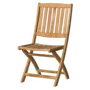 Sconto Skladacia stolička CAMBRIDGE 1 teakové drevo