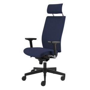 Sconto Kancelárska stolička CONNOR modrá
