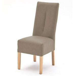 Sconto Jedálenská stolička FABIUS sivá/dub