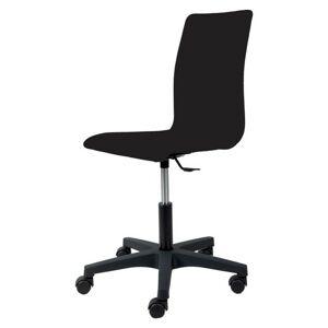 Sconto Kancelárska stolička FLEUR čierna