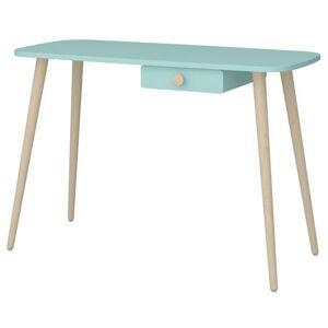 Sconto Písací stôl GENEVIE tyrkysová