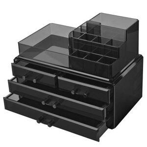 Sconto Úložné boxy JKA001 čierna