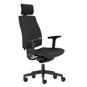 Sconto Kancelárska stolička JOHN čierna