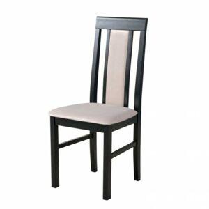 Sconto Jedálenská stolička NILA 2 čierna/béžová