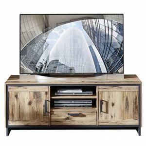 Sconto TV komoda PRATO alpine lodge/grafit, šírka 155 cm