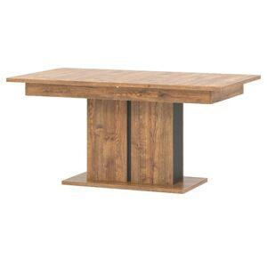 Sconto Jedálenský stôl RIAN dub/čierna