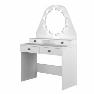Sconto Toaletný stolík STARLET biela