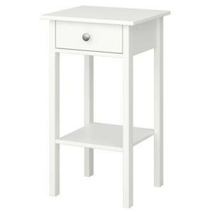 Sconto Nočný stolík TYLER biela