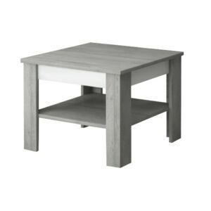 Sconto Konferenčný stolík VOTO 1 betón/biela